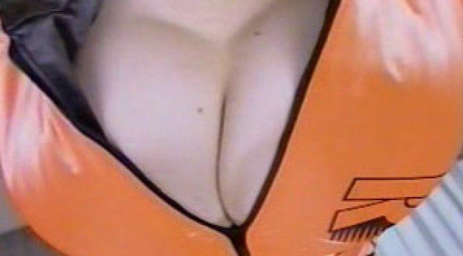 Anna Ohura in orange